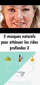 3 masques naturels pour réduire les rides profondes