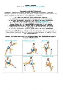 Douleur musculaire après l'entraînement? De quoi dépendent-ils?