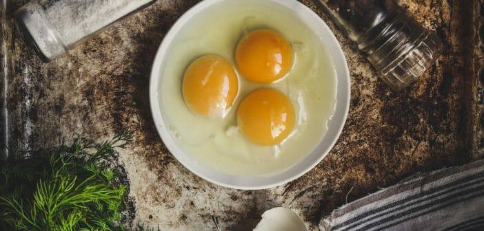 Les bienfaits du jaune d'œuf